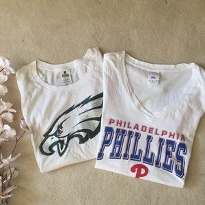 2 Super Cute Philadelphia Teams t-shirts!